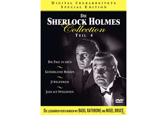 Die Sherlock Holmes Collection - Teil 4 (Special Edition) - (DVD)