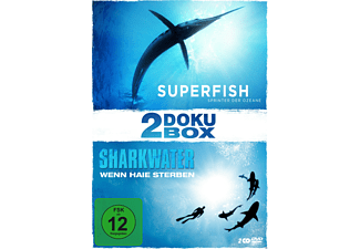 2-Doku-Box: Mit 'Sharkwater' und 'Superfish' - (DVD)