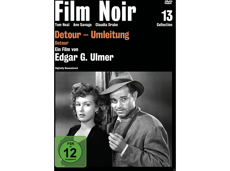Detour - Umleitung (Film Noir Collection 13) [DVD]