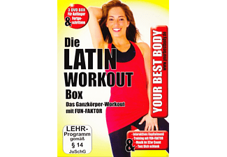 Your Best Body - Die Latin Work Out Box [DVD]