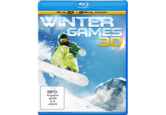 Winter Games - (3D Blu-ray)