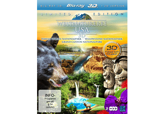 Weltnaturerbe 3D - Limited Editon - (3D Blu-ray)