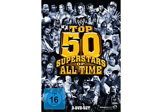 WWE - Top 50 Superstars Of All Time - (DVD)