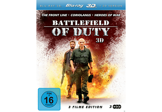 Battlefield of Duty (3D, 3 Disc Set) - (3D Blu-ray)
