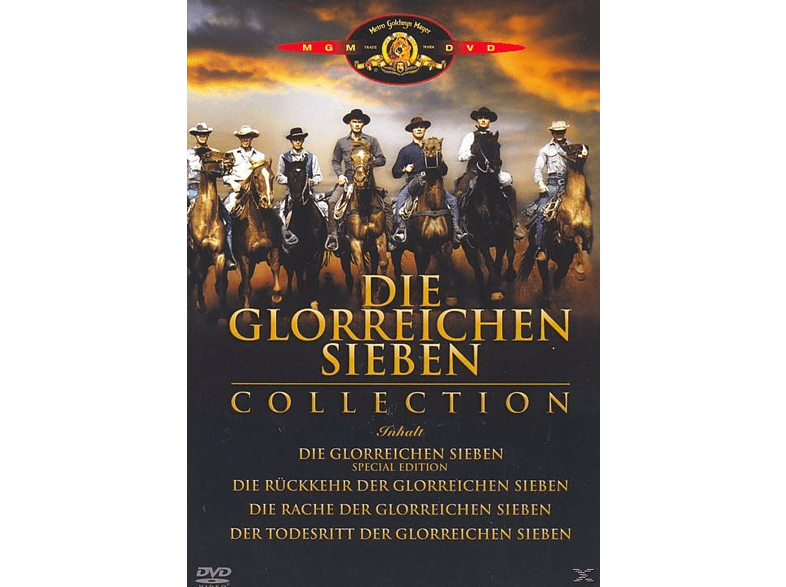 DIE GLORREICHEN SIEBEN (COLLECTION) [DVD]