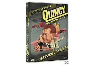 QUINCY 1.-2.SEASON - (DVD)