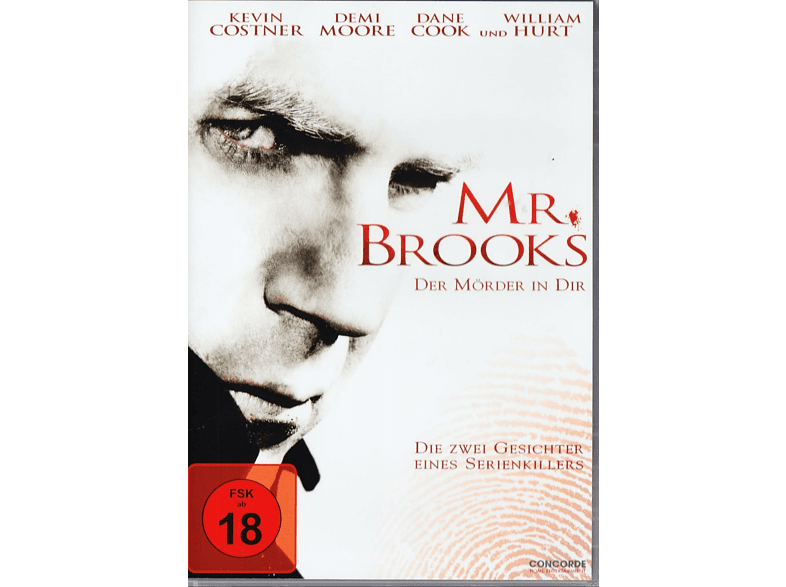 Mr. Brooks - Der Mörder in dir [DVD]