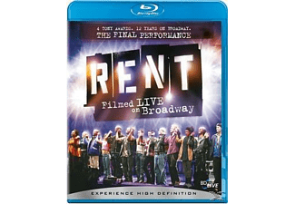 Rent: Filmed Live On Broadway - (Blu-ray)