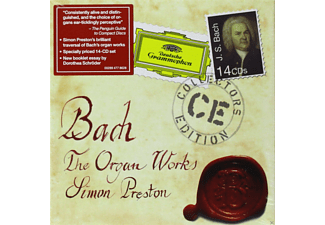 Preston Simon - The Organ Works - (CD)