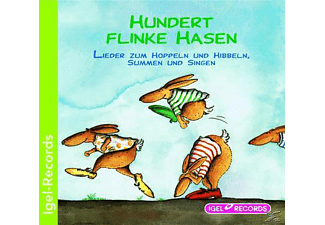 Diverse - 100 flinke Hasen - (CD)