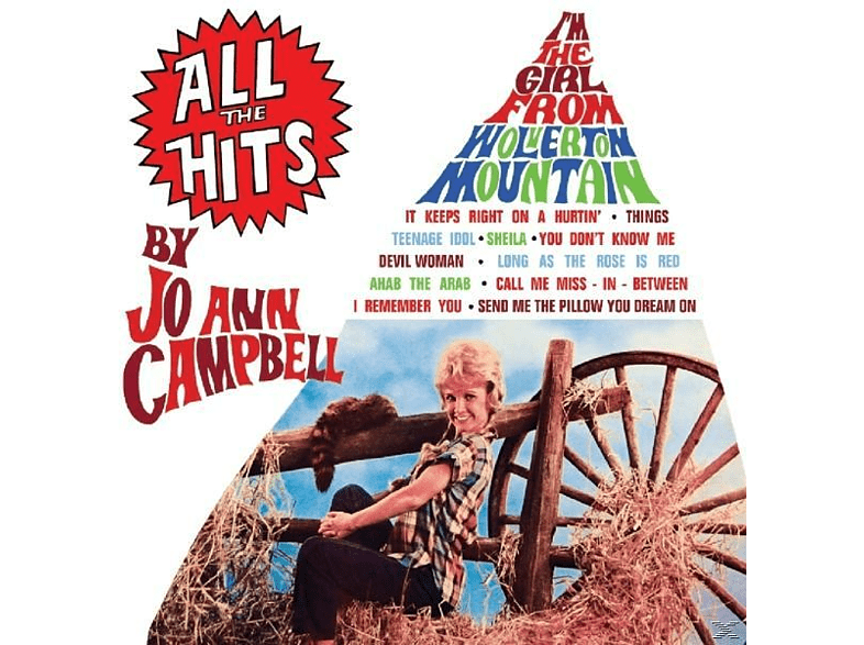 Jo-ann Campbell - All The Hits [CD]