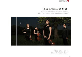 Flex Ensemble - The Arrival of Night - Pianoquartette - (CD)