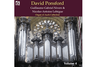David Ponsford - French Organ Music Vol.4 - (CD)