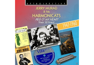 Jerry Murad & His Harmonicats - Peg O' My Heart - (CD)