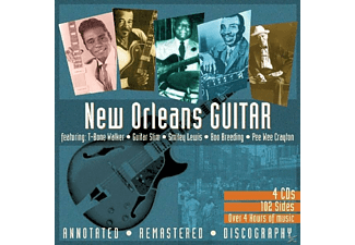 VARIOUS - New Orleans Guitar - (CD)