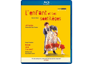 Nederlands Danse Theater/Royal Ballet School - L'enfant Et Les Sortilèges/Peter And The Wolf - (Blu-ray)