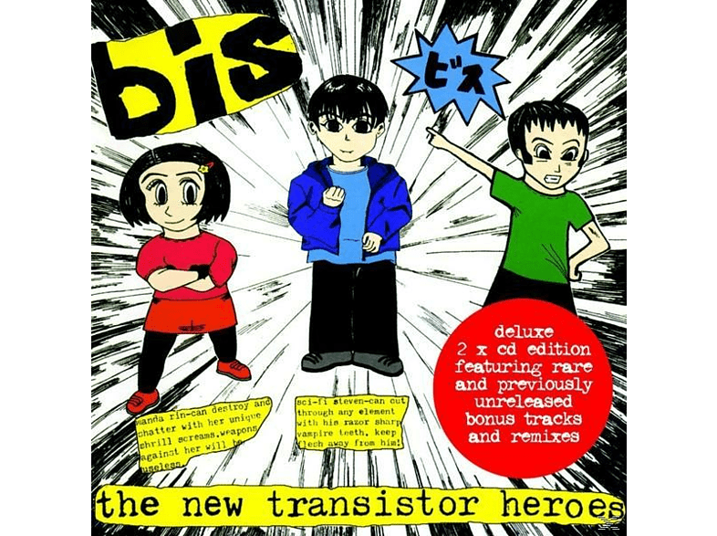 Bis - The New Transistor Heroes (Deluxe) [CD]