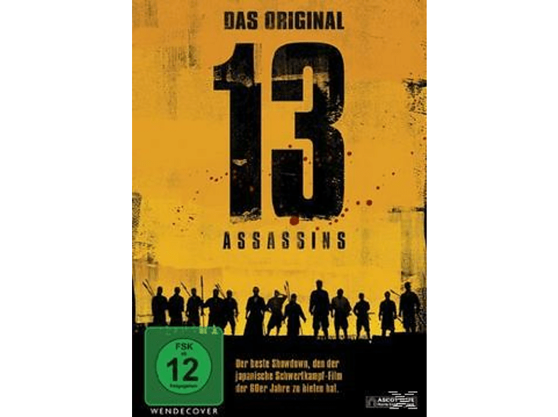 13 ASSASSINS - DAS ORIGINAL (S/W 1963) [DVD]