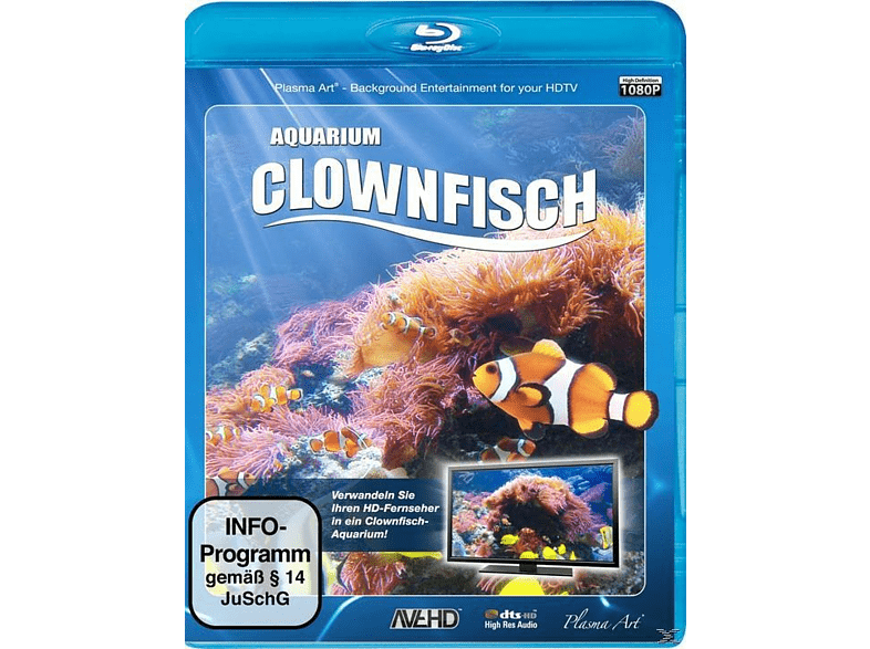 CLOWNFISCH-AQUARIUM HD [Blu-ray]