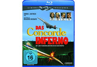 DAS CONCORDE INFERNO (CINEMA TREASURES) - (Blu-ray)
