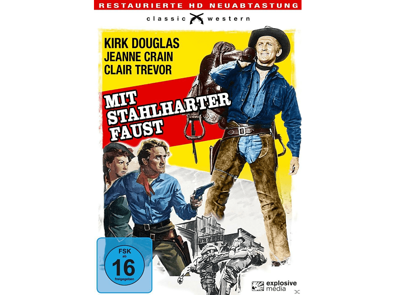 MIT STAHLHARTER FAUST (MAN WITHOUT A STAR) [DVD]