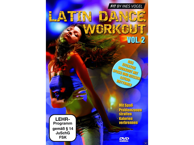 LATIN DANCE WORKOUT 2 [DVD]