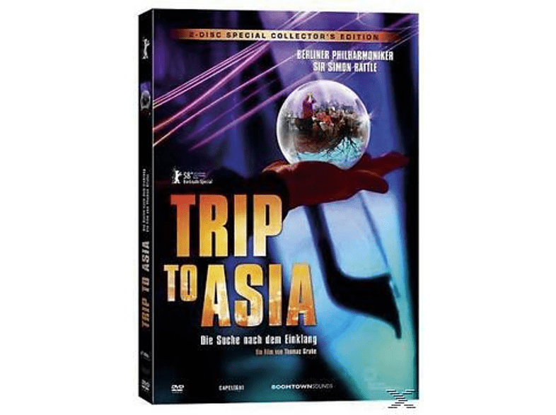 Sir Simon Rattle, Berliner Philharmoniker - Trip to Asia - Special Edition [DVD]