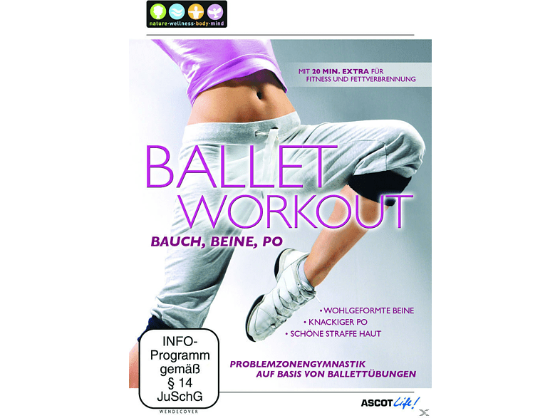 BALLET WORKOUT - BAUCH BEINE PO [DVD]
