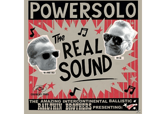Powersolo - The Real Sound (Incl.Mp3-Code) - (Vinyl)