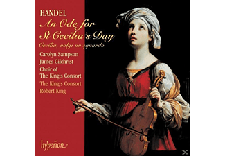Carolyn Sampson - Handel: AN ODE FOR ST CECILIA' S DAY - (CD)