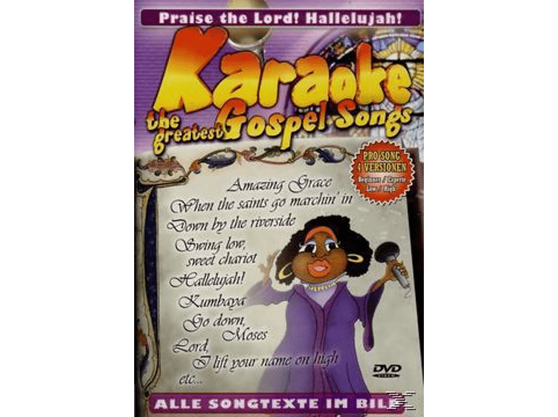 - Karaoke - The Greatest Gospel Songs [DVD]