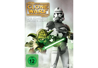 Star Wars: The Clone Wars - Staffel 6 - (DVD)