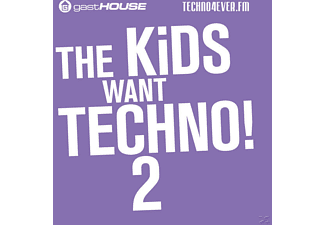 VARIOUS - The Kids Want Techno Ii - (CD)