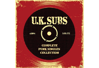 Uk Subs - Complete Punk Singles Collection [Doppel-cd] - (CD)
