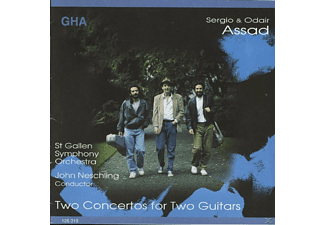 Symphony Orchestra Of St. Gallen, Assad Sergio & Odair - Two Concertos For Two Guitars - (CD)