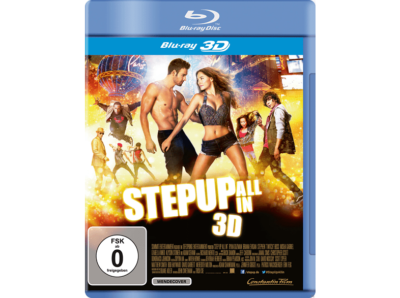 Step Up All in [3D Blu-ray]