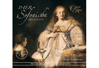 Jennifer Larmore, Paul Nilon, Rebecca Evans, Colin Lee, Philharmonia Orchestra - SOFONISBA - (CD)