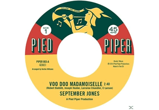 SEPTEMBER JONES/FREDDY BU - Voo Doo Mademoiselle - (Vinyl)