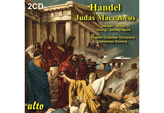 Georg Friedrich Händel, Harper/Watts/Shirley-Quirk/Somary/ECO - Judas Maccabäus (GA) - (CD)