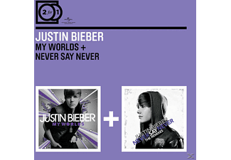 Justin Bieber - 2 For 1: My Worlds/Never Say Never - (CD)