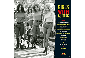 VARIOUS - Girls With Guitars (180 Gr.Crimson Vinyl) - (Vinyl)
