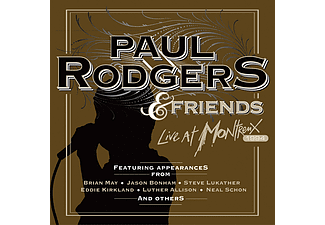 Paul Rodgers - Live At Montreux 1994 (CD + DVD)