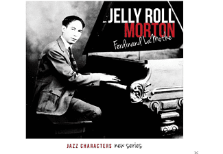 Jelly Roll Morton - Ferdinand Lamothe - (CD)