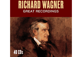 Waltraud Maier, Peter Hofmann, Göstha Winbergh, Berliner Philharmoniker, Symphony Of The Air, Radio-Sinfonieorchester Stuttgart, Royal Philharmonic Orchestra, New York Philharmonic Orchestra, Buenos Aires Philharmonic Orchestra of the Teatro Colon, VARIOUS - Richard Wagner - Great Recordings - (CD)