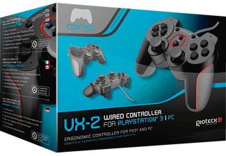 GIOTECK VX-2 Wired Controller PS3 Zwart