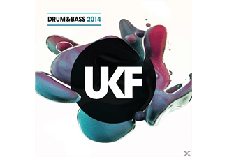 VARIOUS - Ukf Drum & Bass 2014 (Cd+Mp3) - (CD)