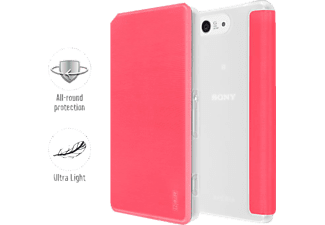 5866-1346 SmartJacket® Bookcover Sony Xperia Z3 Compact Polyurethan Pink