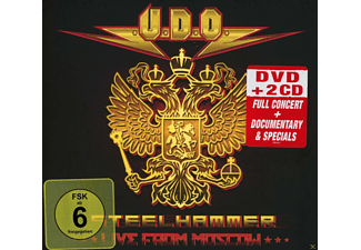 Udo - Steelhammer-Live In Moscow (DVD+2CD Digipak) - (DVD + CD)