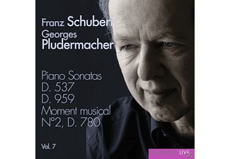 Georges Pludermacher - Klaviersonaten D.537 & 959 Vol.7 - (CD)