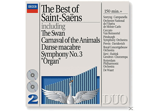 VARIOUS - Best Of Saint-Saens - (CD)